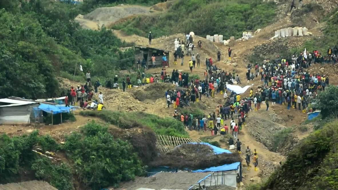 República Democrática del Congo: Al menos 50 muertos tras derrumbe de mina de oro