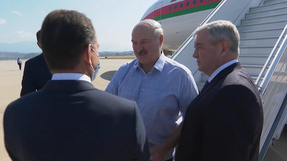 Россия: Лукашенко прибыл в Сочи для переговоров с Путиным в формате тет-а-тет
