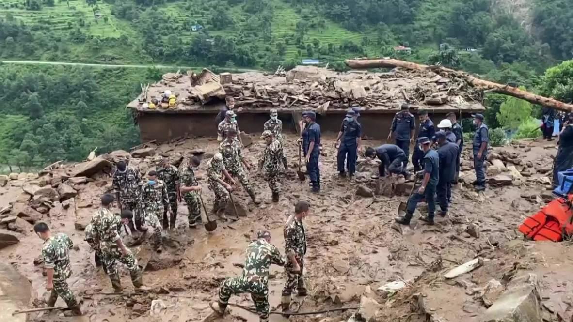 نيبال: انهيارات أرضية دامية تضرب مناطق شرق العاصمة كاتماندو