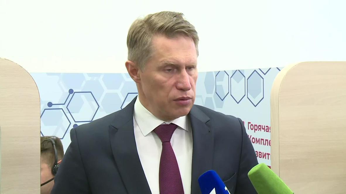 Россия: Глава Минздрава Мурашко рассказал о жалобах участников в испытании вакцины от COVID-19