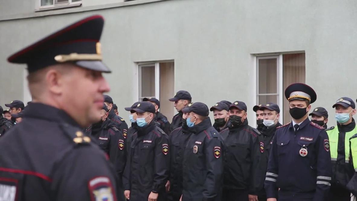 Россия: Сотрудники МВД и Росгвардии направились в места постоянной дислокации после снятия усиления на границе с Белоруссией