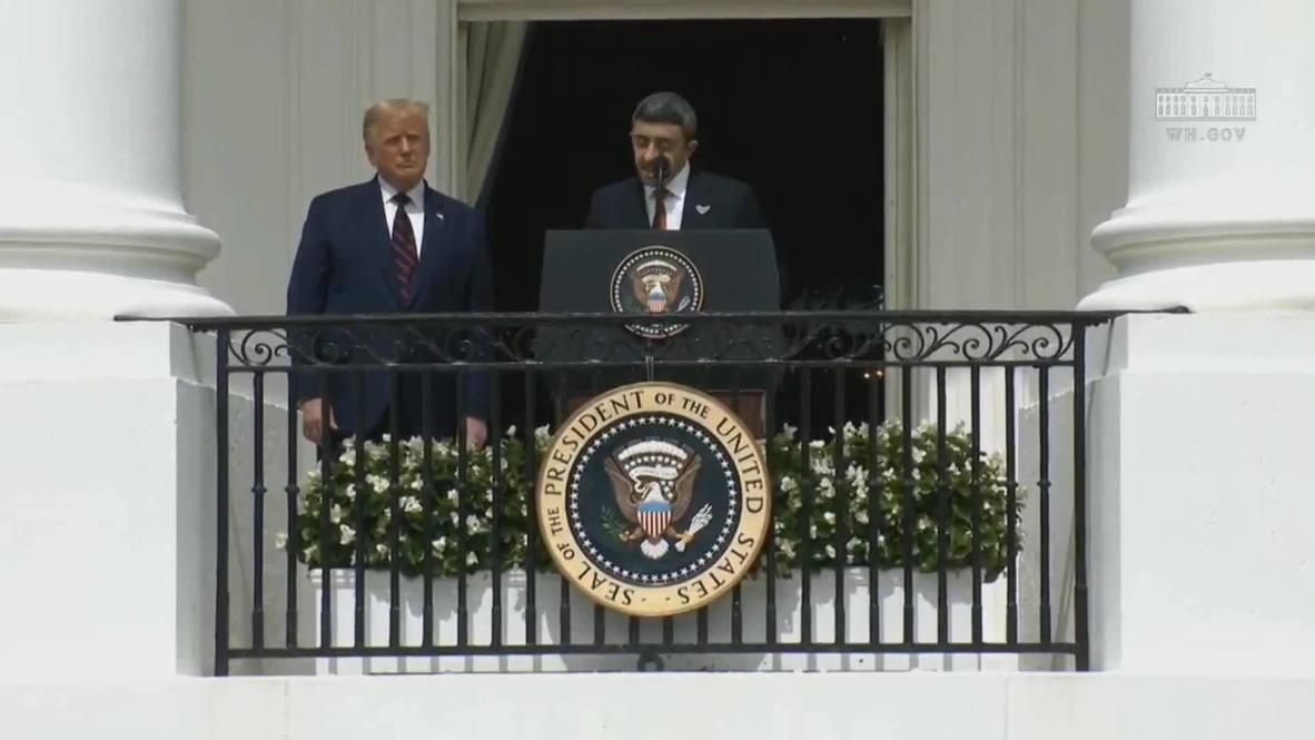 EE.UU.: Israel da un paso hacia una 'paz genuina y duradera' - primer ministro de Baréin