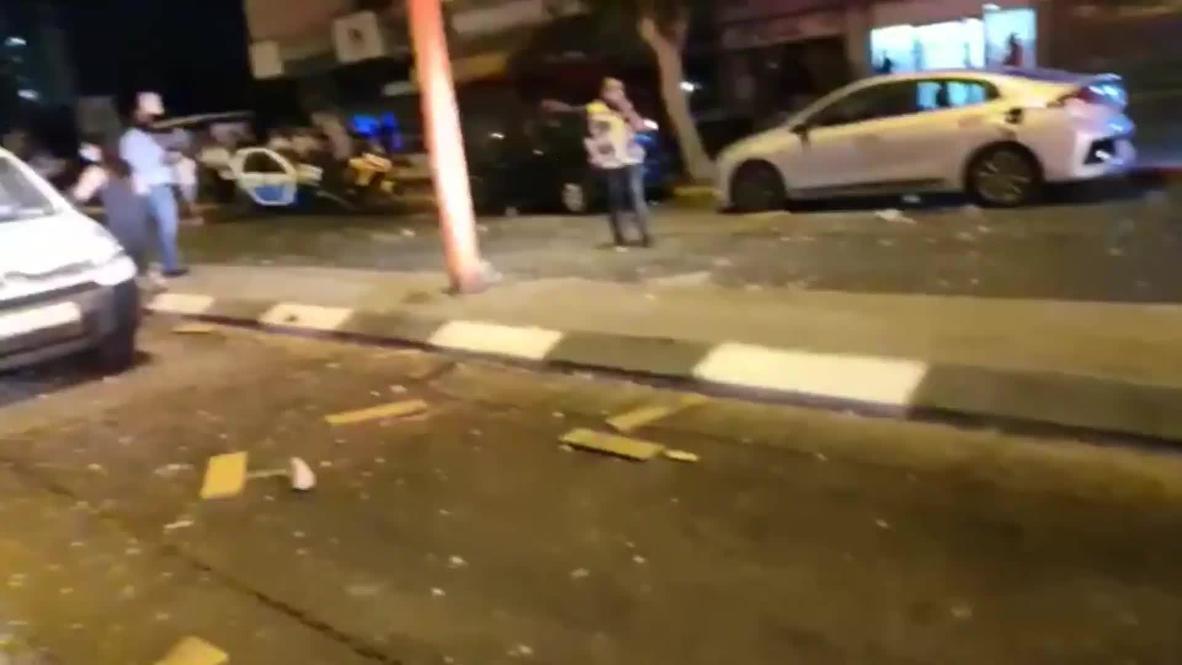 """إسرائيل: هجوم صاروخي على مدينة أشدود يخلف مصابين على الأقل تزامنا مع توقيع اتفاق """"السلام"""" في الولايات المتحدة"""