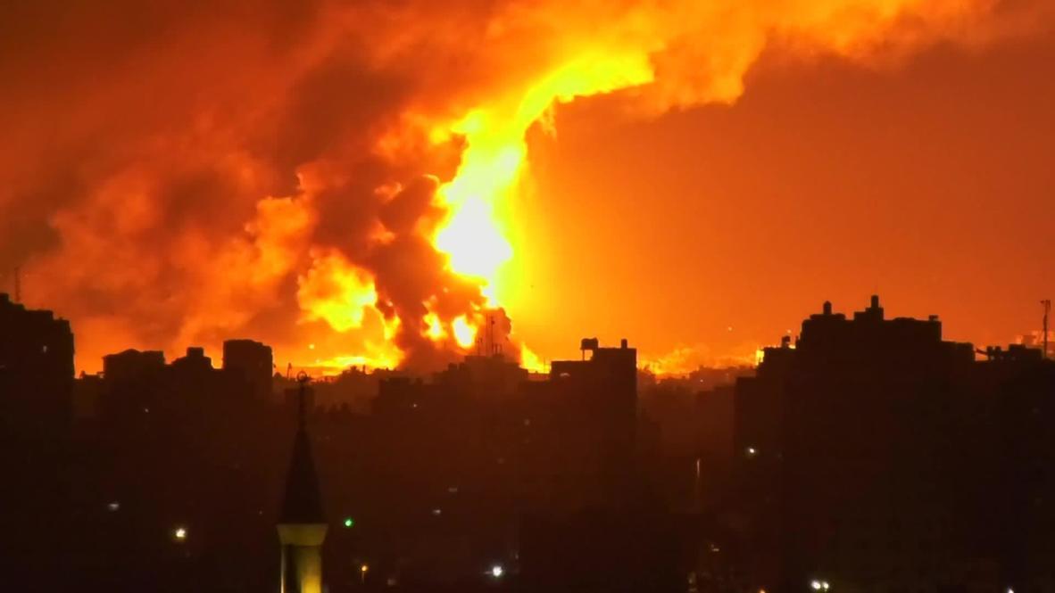 Palestina: Proyectiles israelíes alcanzan objetivos en la Franja de Gaza