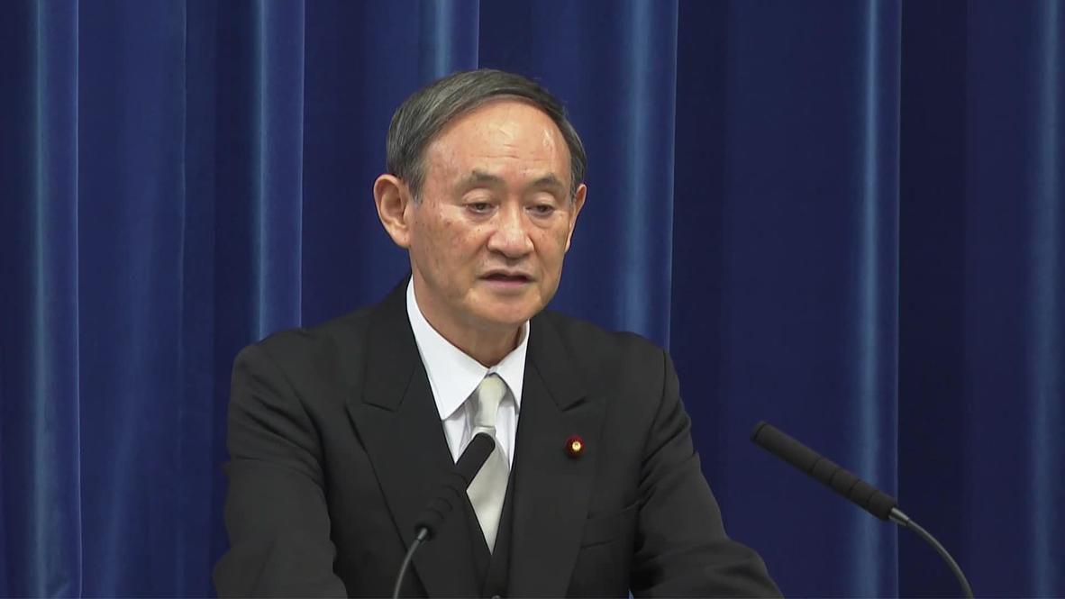"""Japón: Yoshihide Suga asume como primer ministro con la pandemia como """"máxima prioridad"""""""