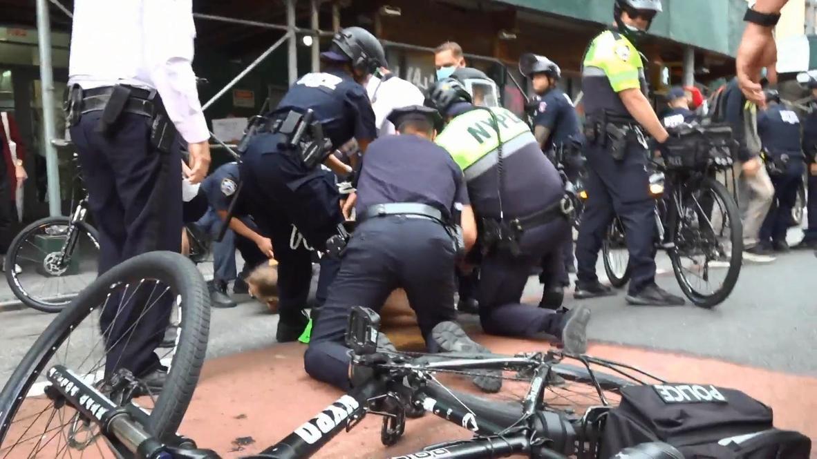 EE.UU.: Decenas de detenidos en Nueva York en protestan por supuestas histerectomías no deseadas en instalaciones del ICE