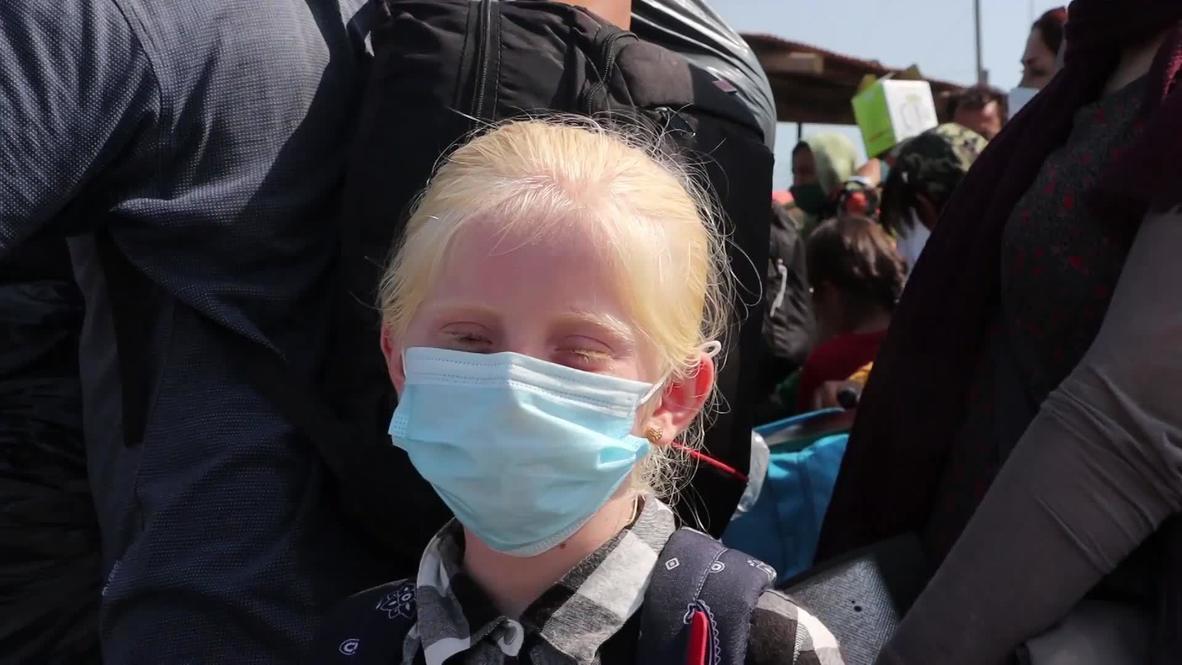 اليونان: فتاة أفغانية عالقة مع عائلتها في جزيرة ليسبوس تأمل بالوصول إلى ألمانيا