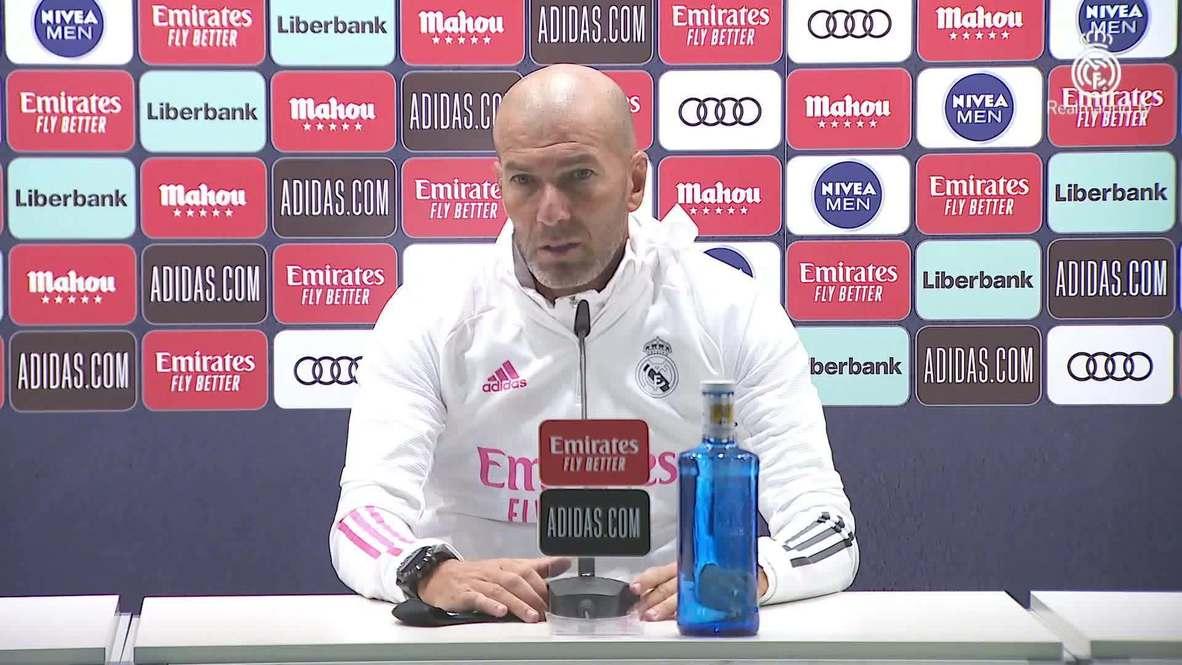 """إسبانيا: """"أتمنى له كل التوفيق"""" زيدان يعلق على رحيل غاريث بيل قبل أول مباراة لريال مدريد في الدوري الإسباني"""