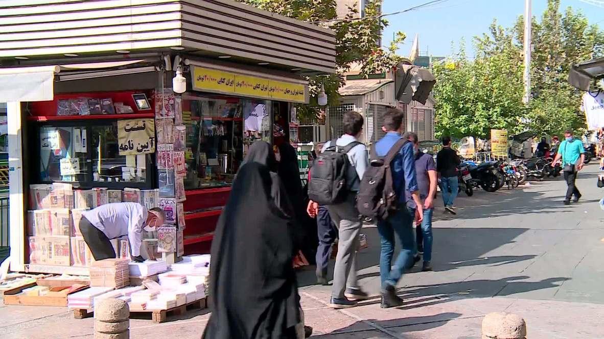 Irán: Residentes de Teherán opinan sobre las vuelta de sanciones impuestas por Washington