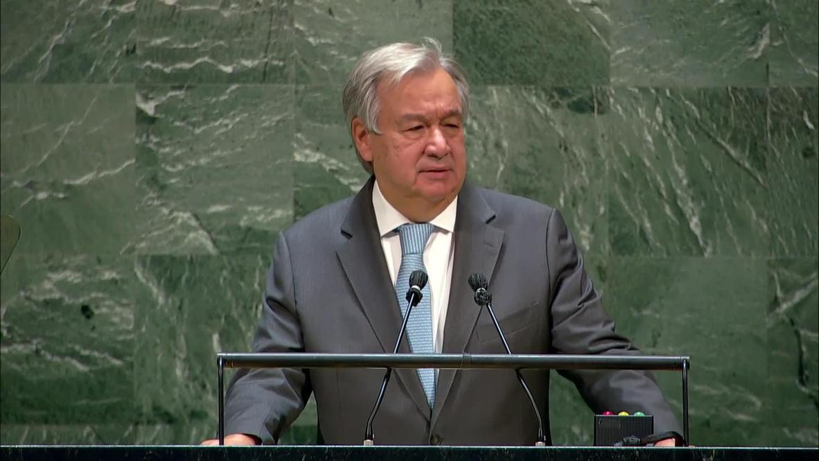 """ONU: La """"desigualdad de género"""" es """"el mayor desafío a los derechos humanos en todo el mundo"""" - Guterres"""