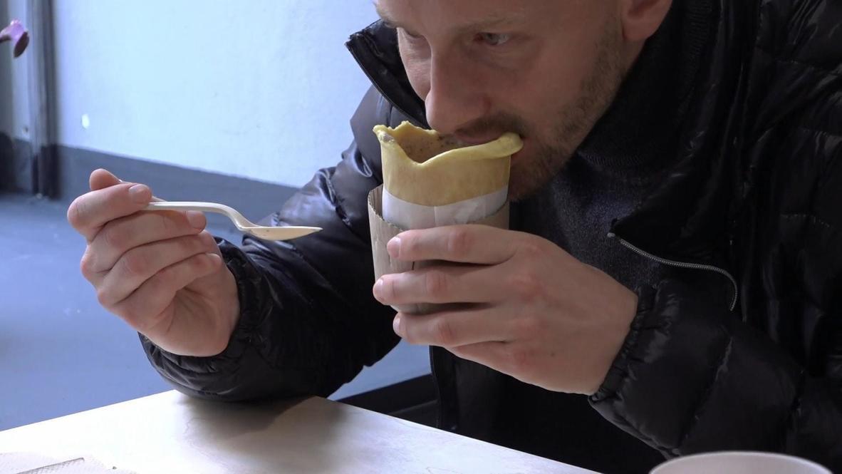 Rusia: Restaurante de San Petersburgo sirve sopa en un tazón comestible