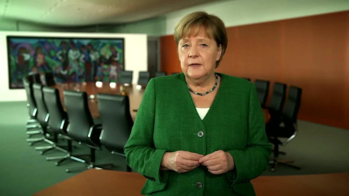الأمم المتحدة: ميركل تدعو إلى توسيع مجلس الأمن