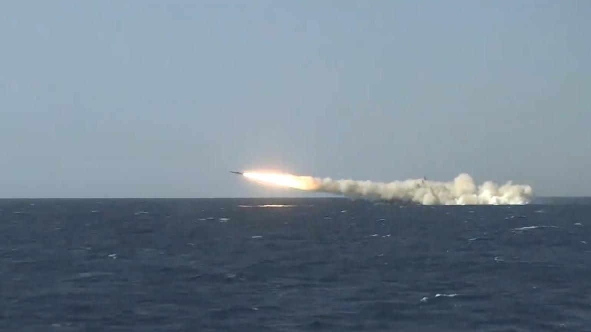 Russia: Black Sea fleet ships launch missiles during Caucasus 2020 war games