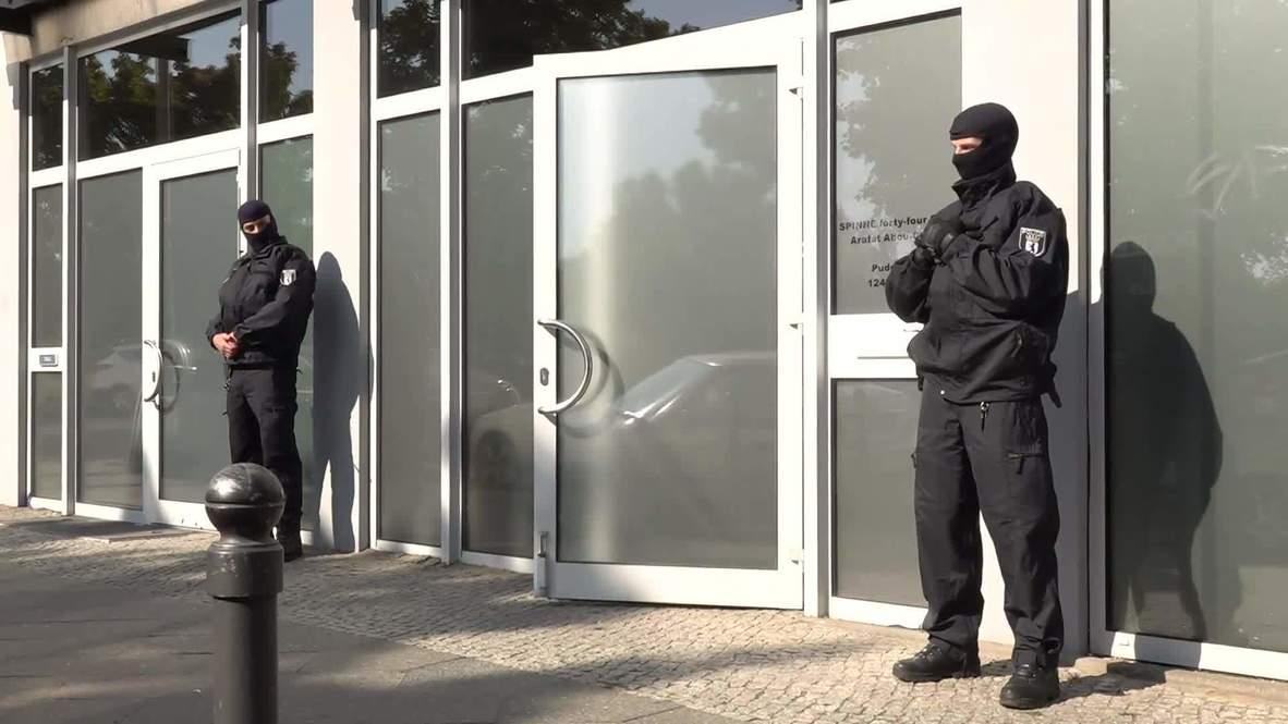 """ألمانيا: الشرطة تداهم مبان في برلين تعود لزعيم عصابة يدعى """"عرفات أبو شاكر"""""""