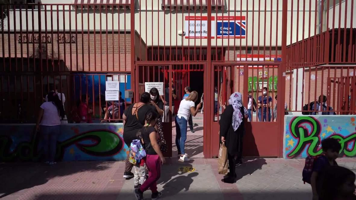 Spain: Madrid teachers strike over lack of coronavirus safety measures in classrooms