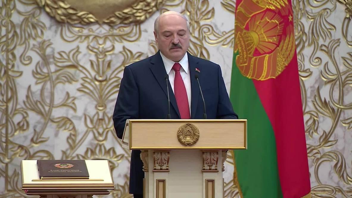 Белоруссия: В Минске прошла тайная церемония инаугурации Александра Лукашенко
