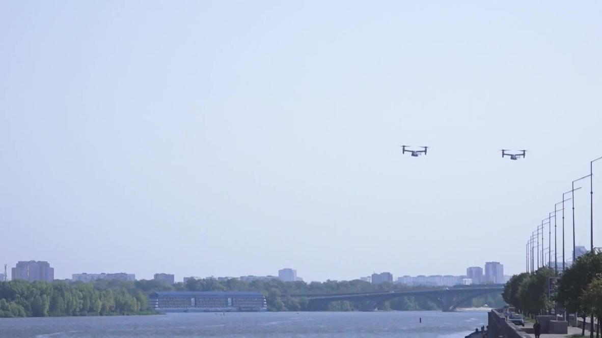 Украина: Военные самолеты США пролетели в небе над Киевом