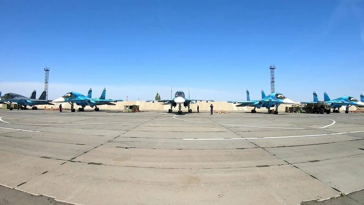 Россия: Бомбардировщики ВКС и ЮВО поразили цели на полигонах в Астраханской области