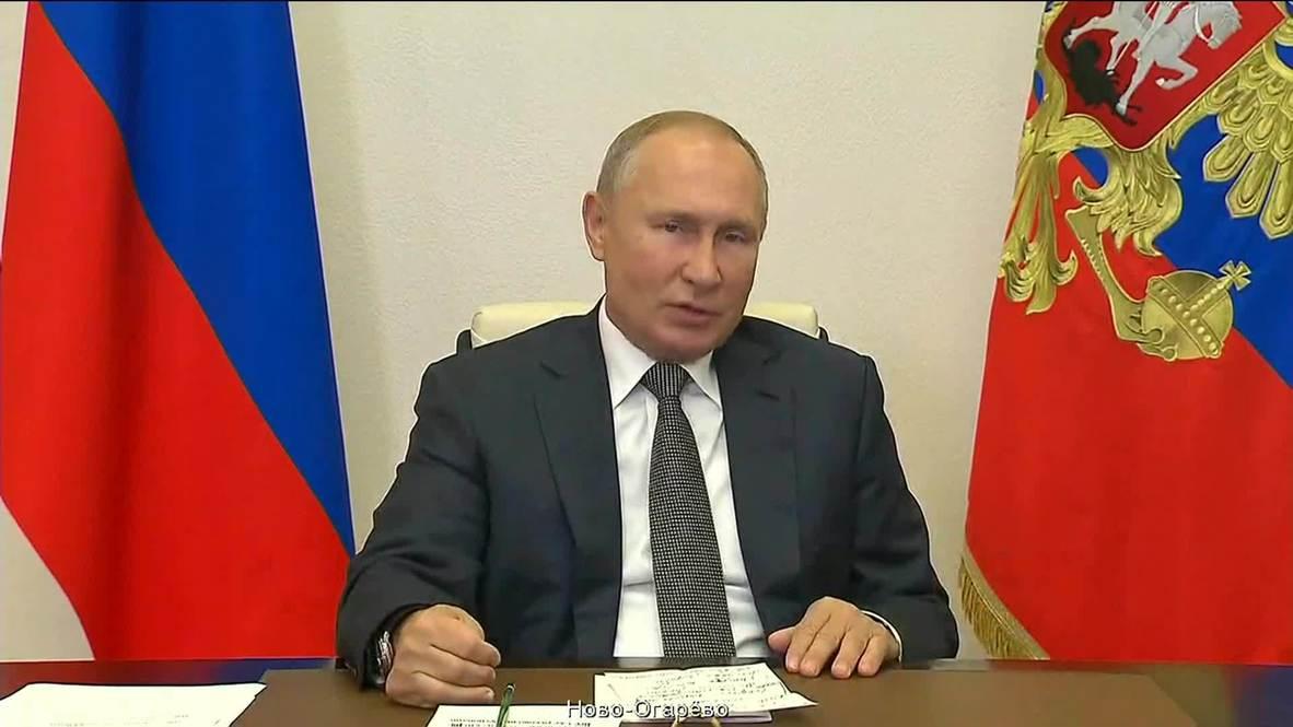 Россия: Не хотелось бы возвращаться к ограничениям из-за коронавируса – Путин