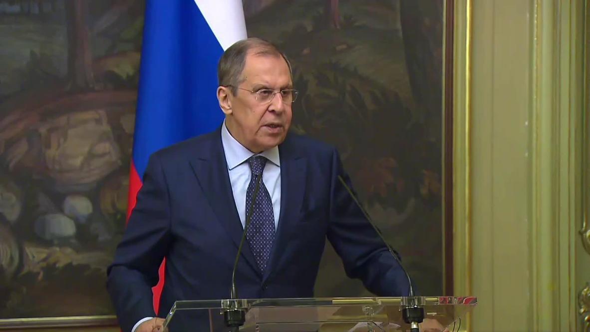 """Россия: США пытаются публично унизить ЕС - Лавров о ситуации вокруг """"Северного потока-2"""""""