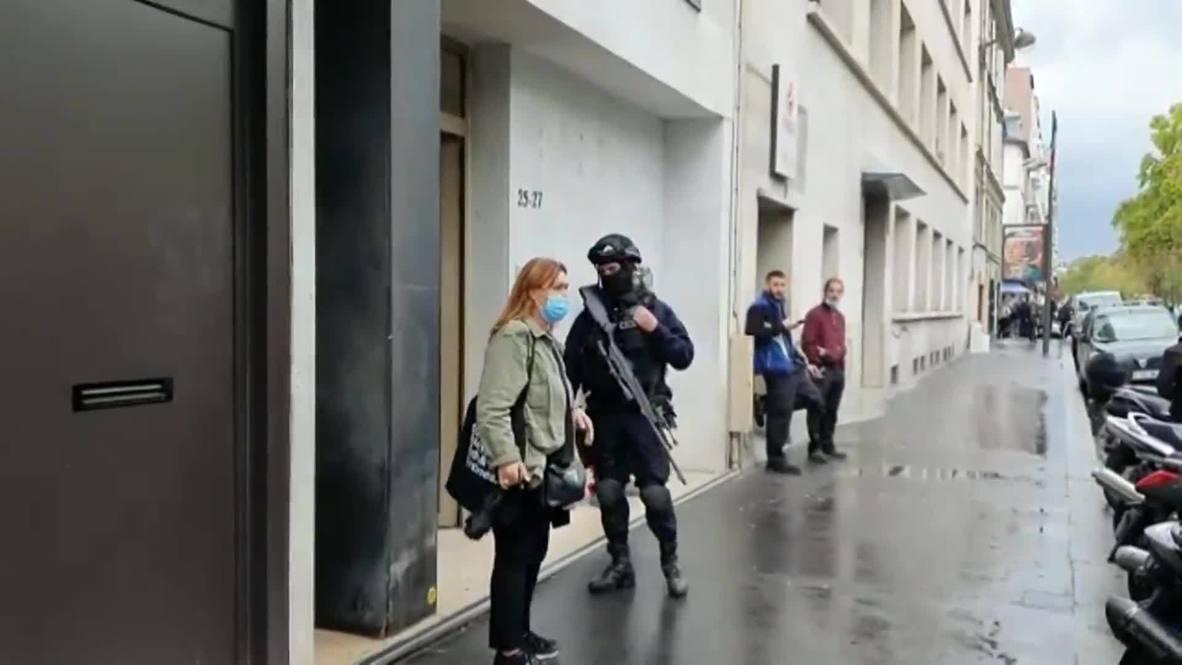 Francia: Varios heridos tras ataque con arma blanca cerca de las antiguas oficinas de Charlie Hebdo