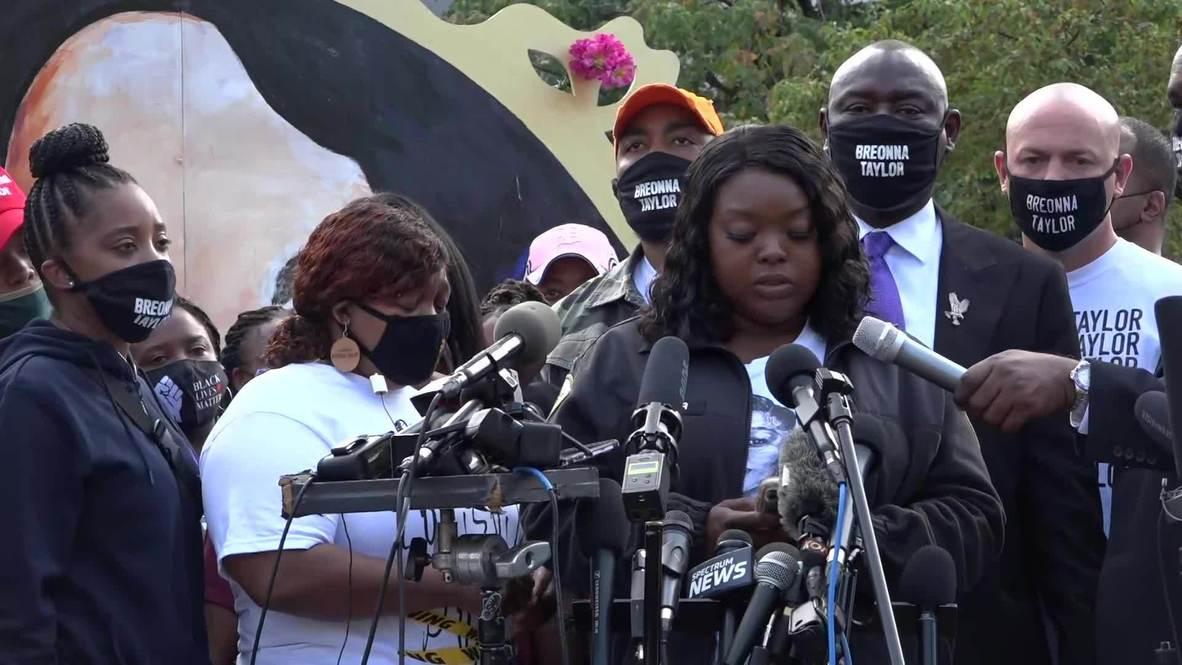 EE.UU.: Familia de Breonna Taylor exige la publicación de las transcripciones del gran jurado
