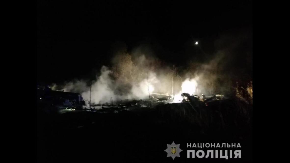 Ukraine: Kharkov plane crash death toll rises to 22 – Internal Affairs Ministry *STILLS*