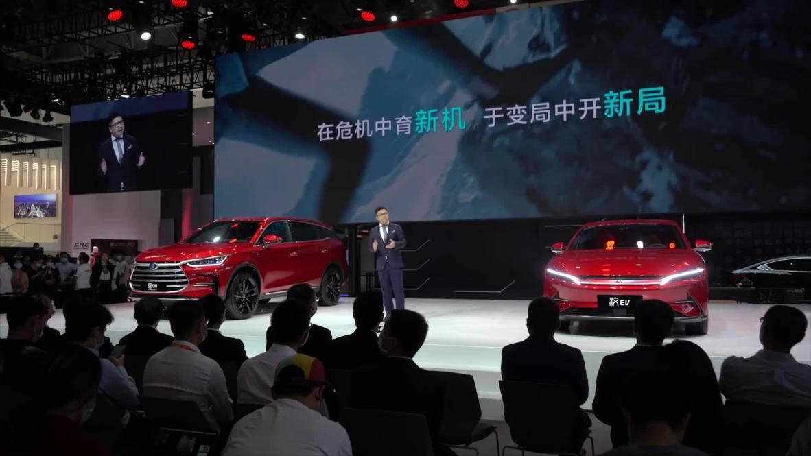 الصين: انطلاق فعاليات معرض بكين للسيارات 2020 بعد تأخيره بسبب الوباء