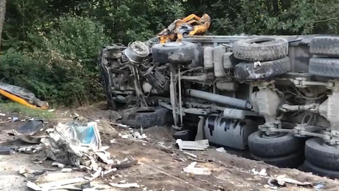 Россия: Семь человек погибли в результате ДТП в Калининградской области