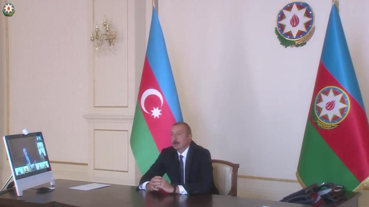 Азербайджан: Алиев созвал чрезвычайное заседание Совета безопасности страны после столкновений в Нагорном Карабахе