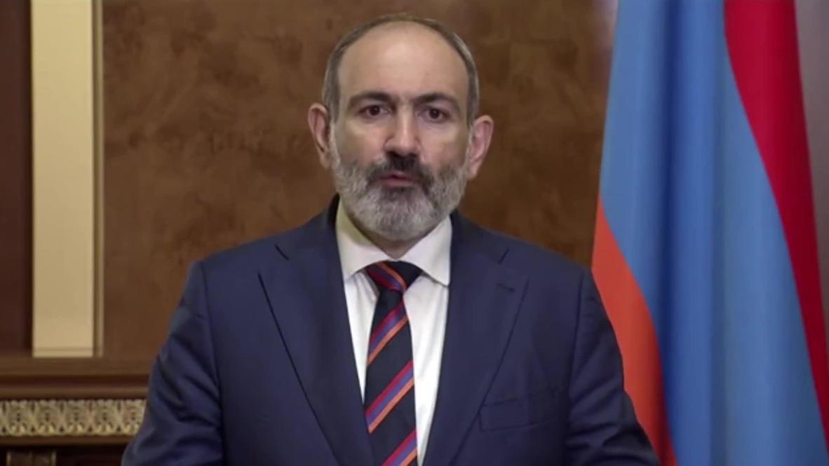 Армения: Мы предпримем все необходимые меры для принуждения противника к миру - Пашинян в обращении к нации