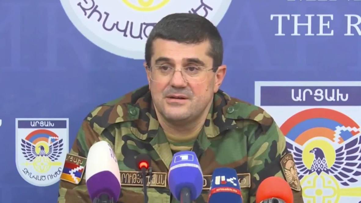 قره باغ: زعيم المنطقة المتنازع عليها: أذربيجان ليست وحدها من يقاتلنا بل تركيا أيضا