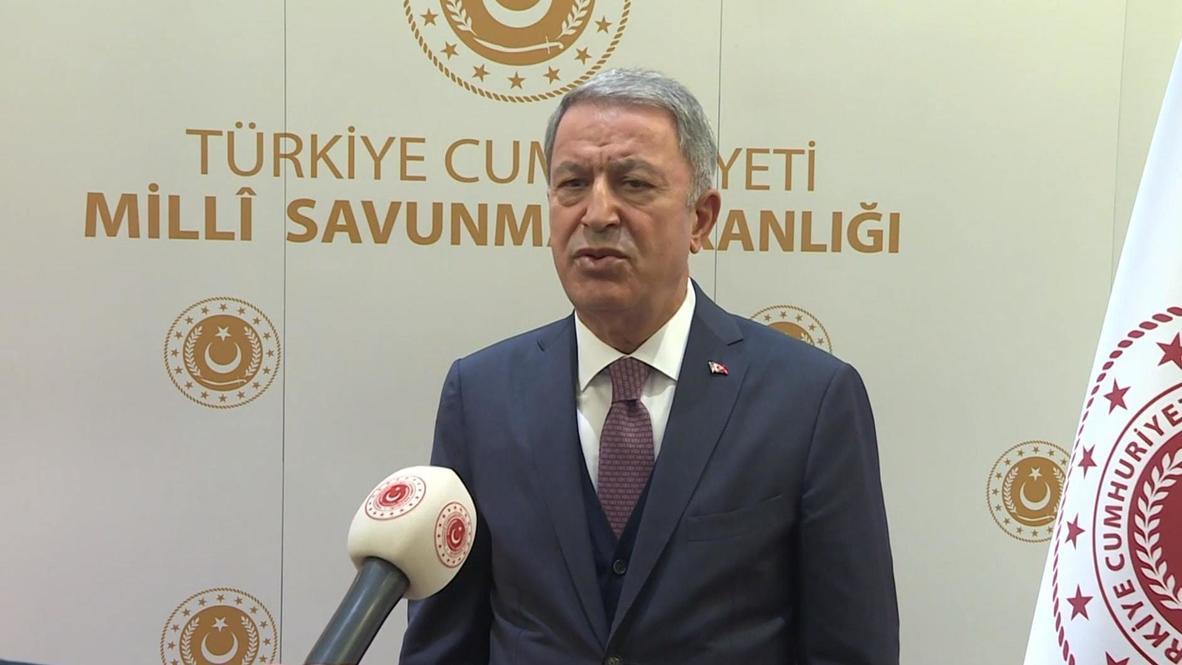 Turquía: Ministro de Defensa turco dice que Armenia debe detener sus ataques de inmediato