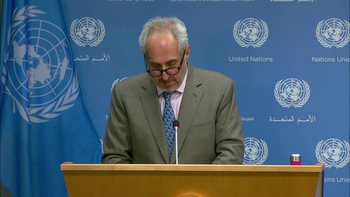 ONU: Secretario general llama a Azerbaiyán y Armenia a cesar combates inmediatamente - portavoz de Guterres