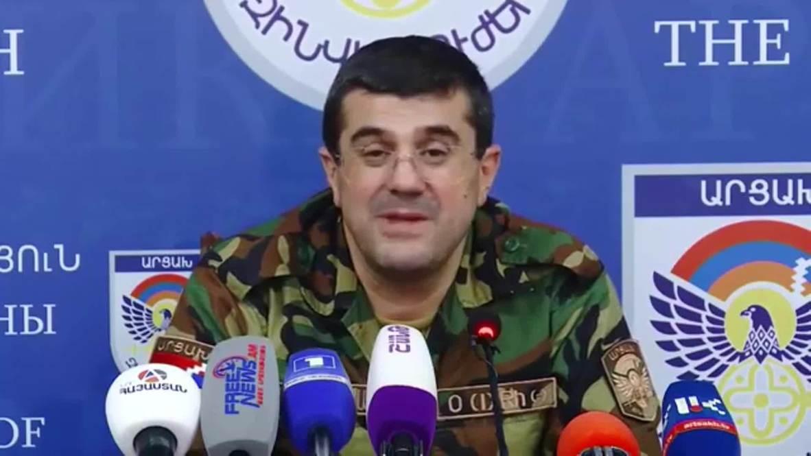"""Нагорный Карабах: """"Мы должны быть готовы к более тяжелым и длительным боевым действиям"""" - лидер НКР"""