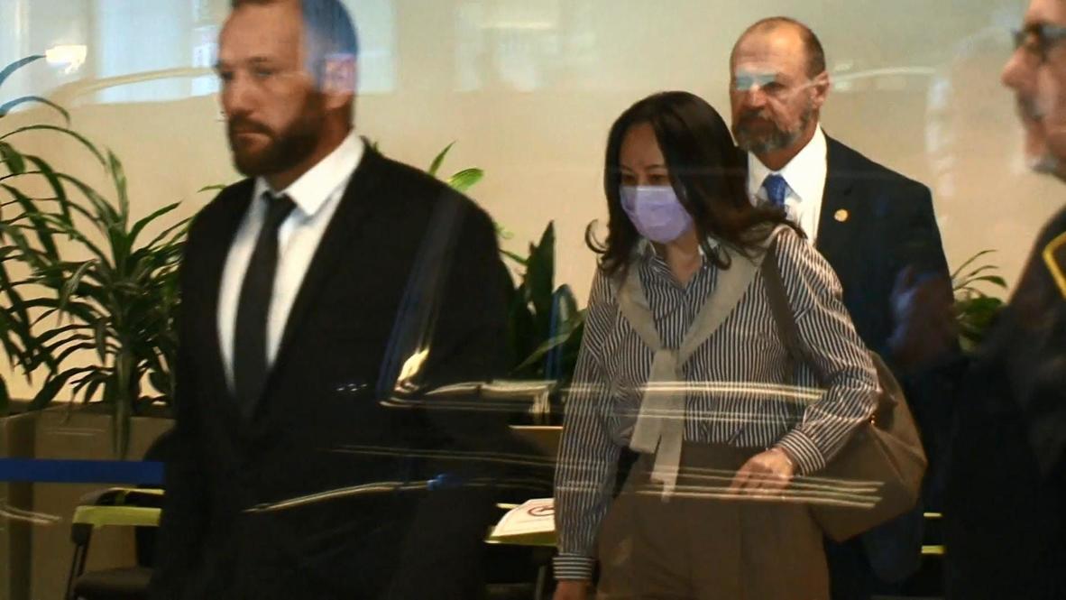 كندا: المدير المالي لشركة هواوي الصينية تمثل أمام المحكمة مع استئناف محاكمة تسليمها إلى الولايات المتحدة