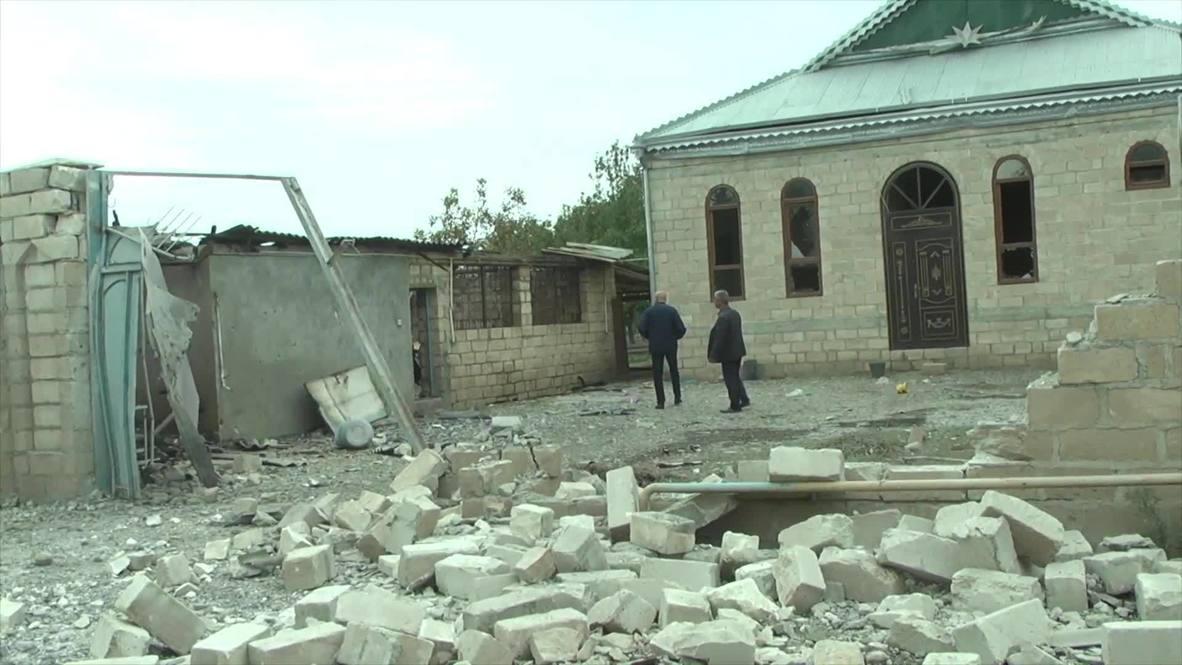 Azerbaiyán: Tres civiles mueren en el distrito de Terter tras bombardeo armenio - Fiscalía General