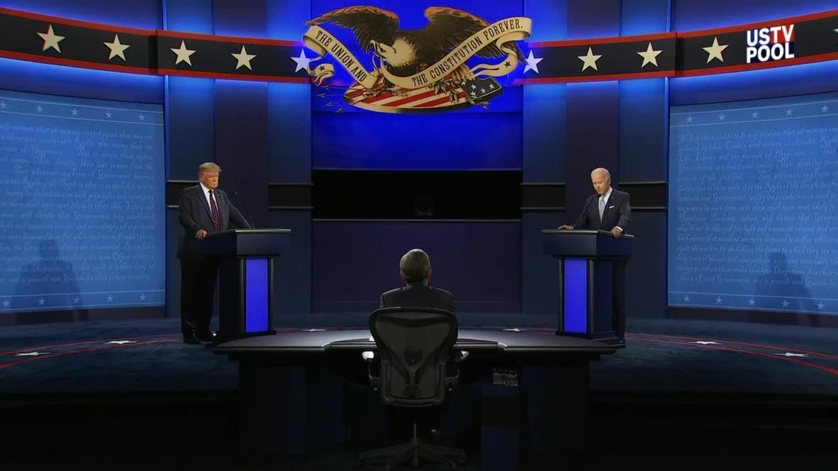 الولايات المتحدة الأمريكية: بايدن يتهم ترامب بالكذب خلال المناظرة الرئاسية الأولى في كليفلاند