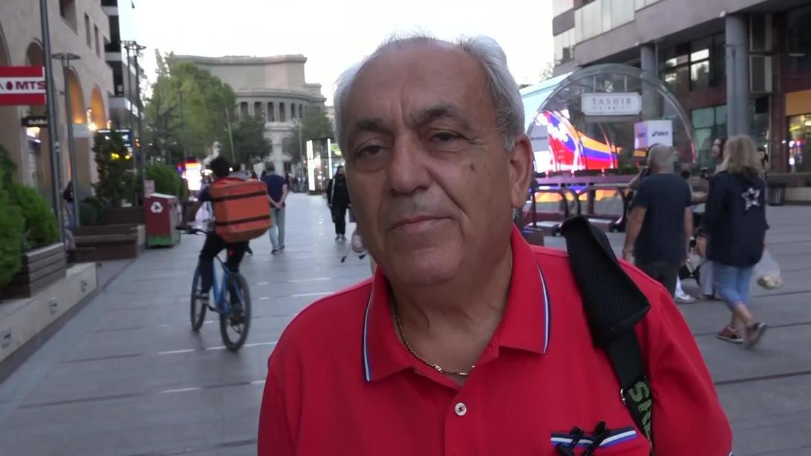 Armenia: Yerevan locals discuss Nagorno-Karabakh conflict