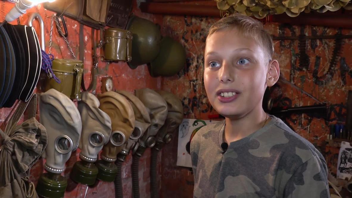 """""""Подвальчик с историями"""". 12-летний калининградец создал исторический музей"""