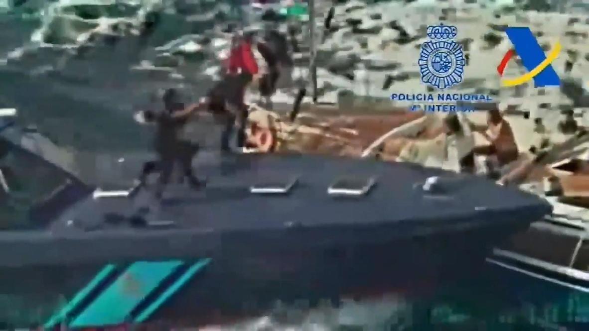 España: Policía incauta 35 toneladas de hachís en el mayor golpe al narcotráfico marítimo en España