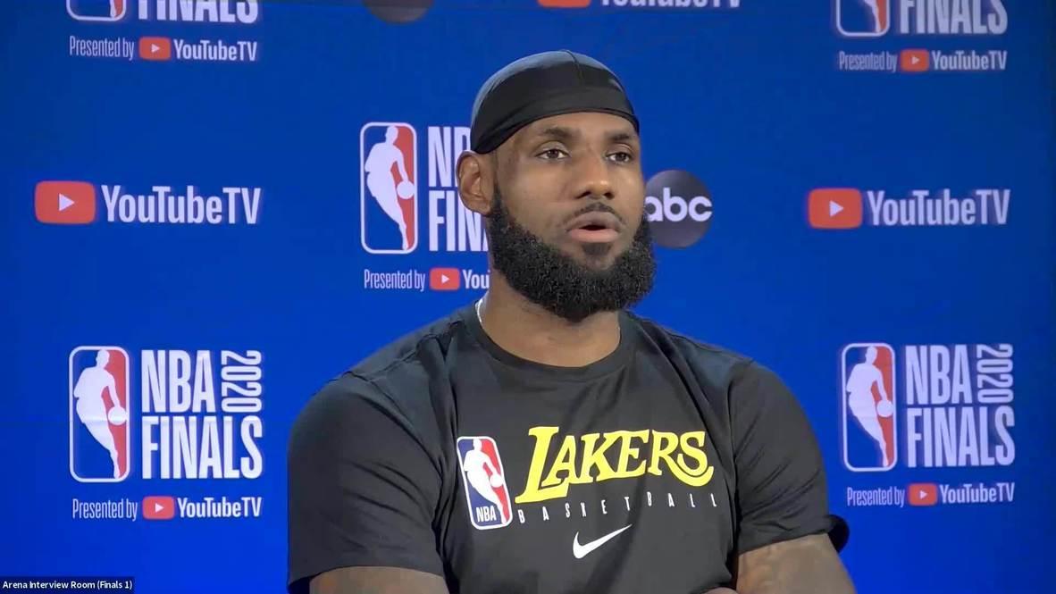 EE.UU.: LeBron James dice que queda mucho trabajo por hacer tras la primera victoria en las finales de la NBA