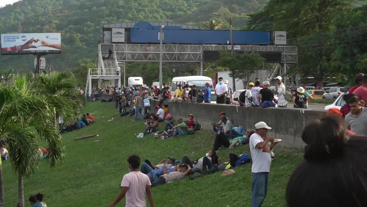 Honduras: New migrant caravan begins amid pandemic