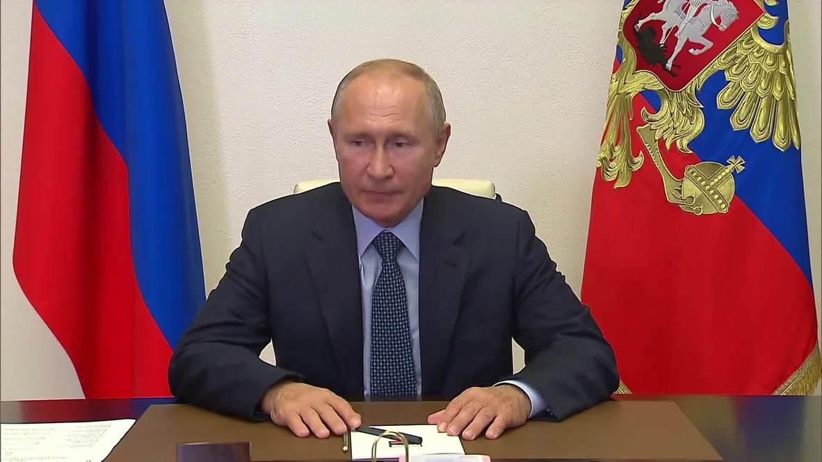 Rusia: Putin habla sobre el conflicto en Nagorno Karabaj en el Consejo de Seguridad
