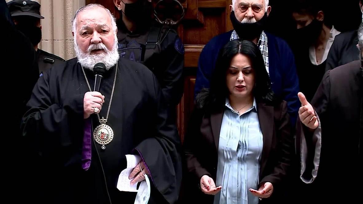 Argentina: Comunidad armenia se manifiesta en medio de los combates en Nagorno Karabaj