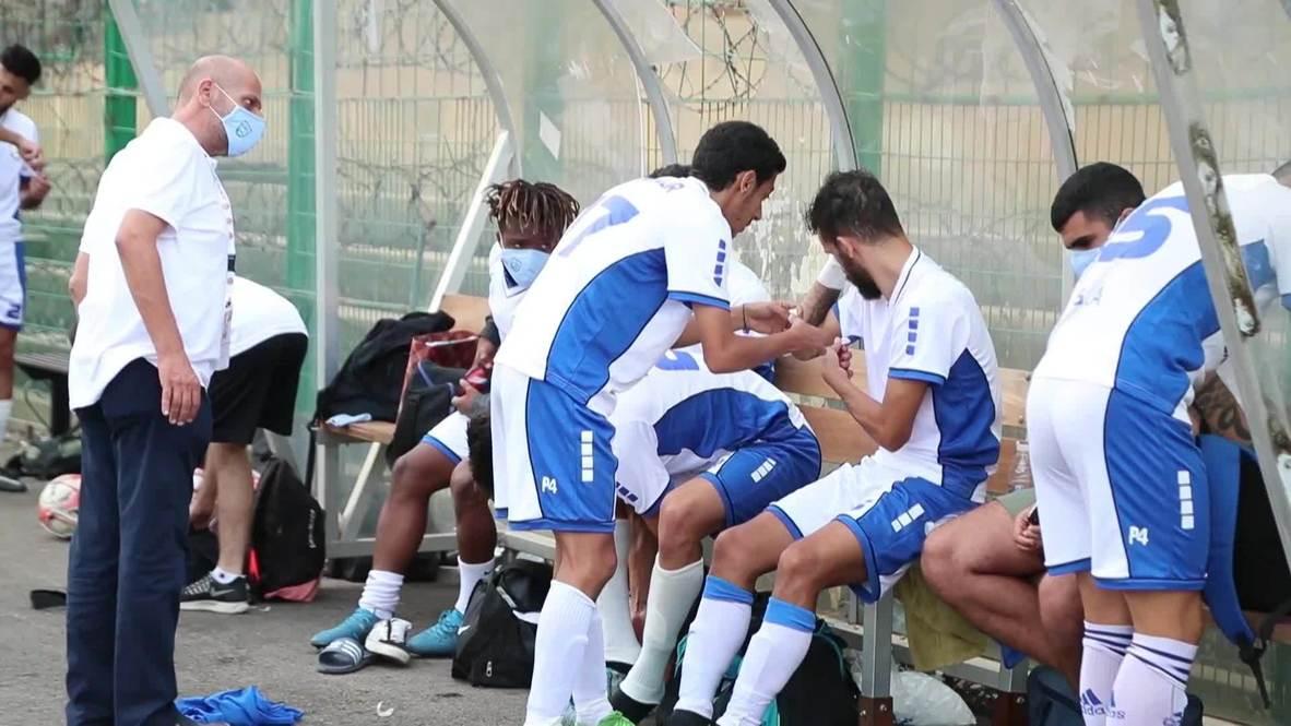 Líbano: Se reanuda la liga de fútbol libanesa tras una pausa debido al covid-19 y las explosiones en Beirut