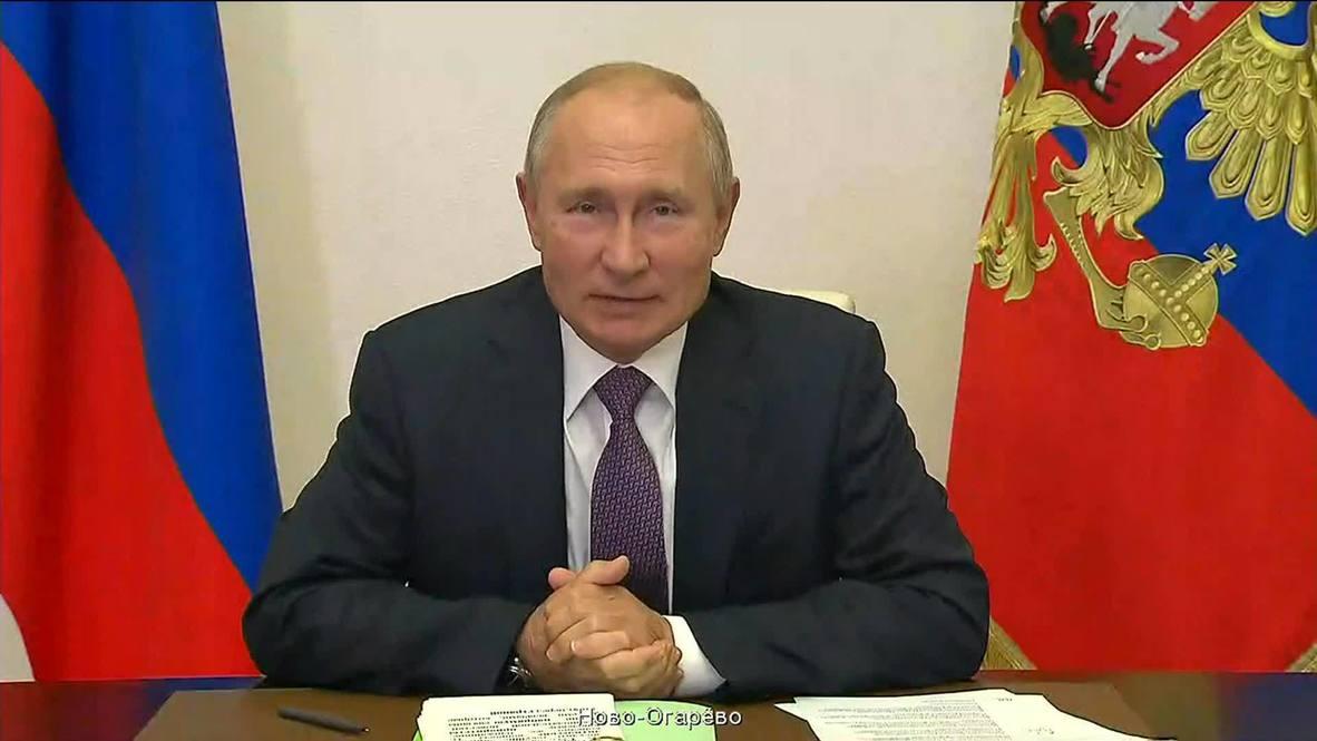 Россия: Путин сообщил о не отступившей угрозе коронавируса