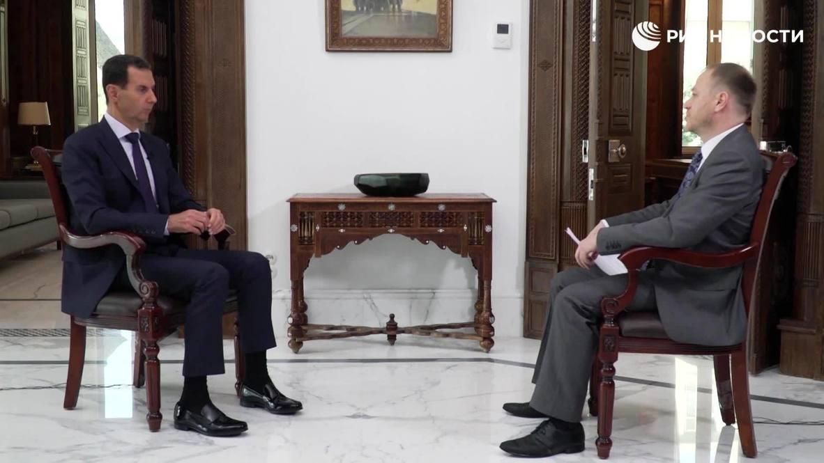 """سوريا: الأسد يصف أردوغان بـ """"المحرض الرئيسي"""" للتصعيد الأخير في قره باغ"""