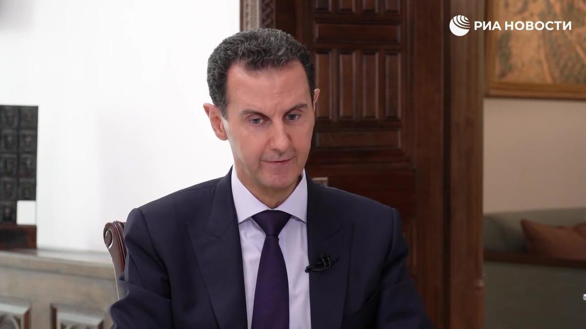 سوريا: الأسد يعلن عن رغبته بتلقي لقاح كوفيد - 19 الروسي