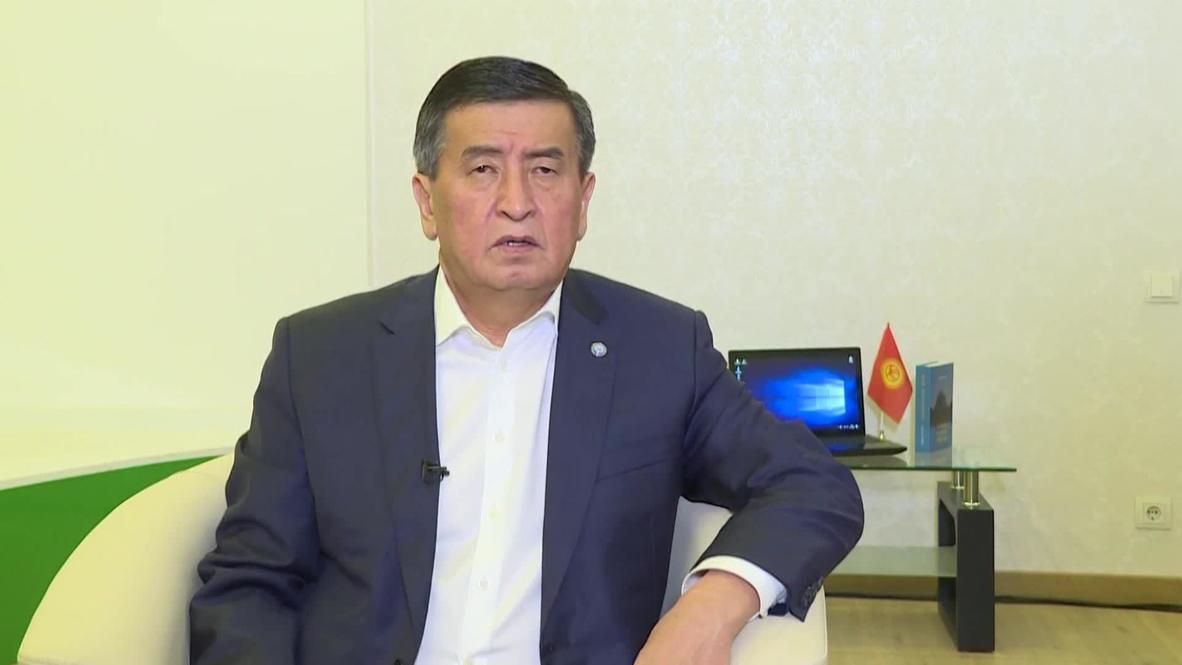 Kyrgyzstan: President Jeenbekov says will do 'everything' to solve political crisis